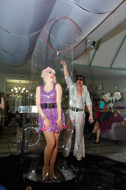 шоу мыльных пузырей на свадьбу ростов