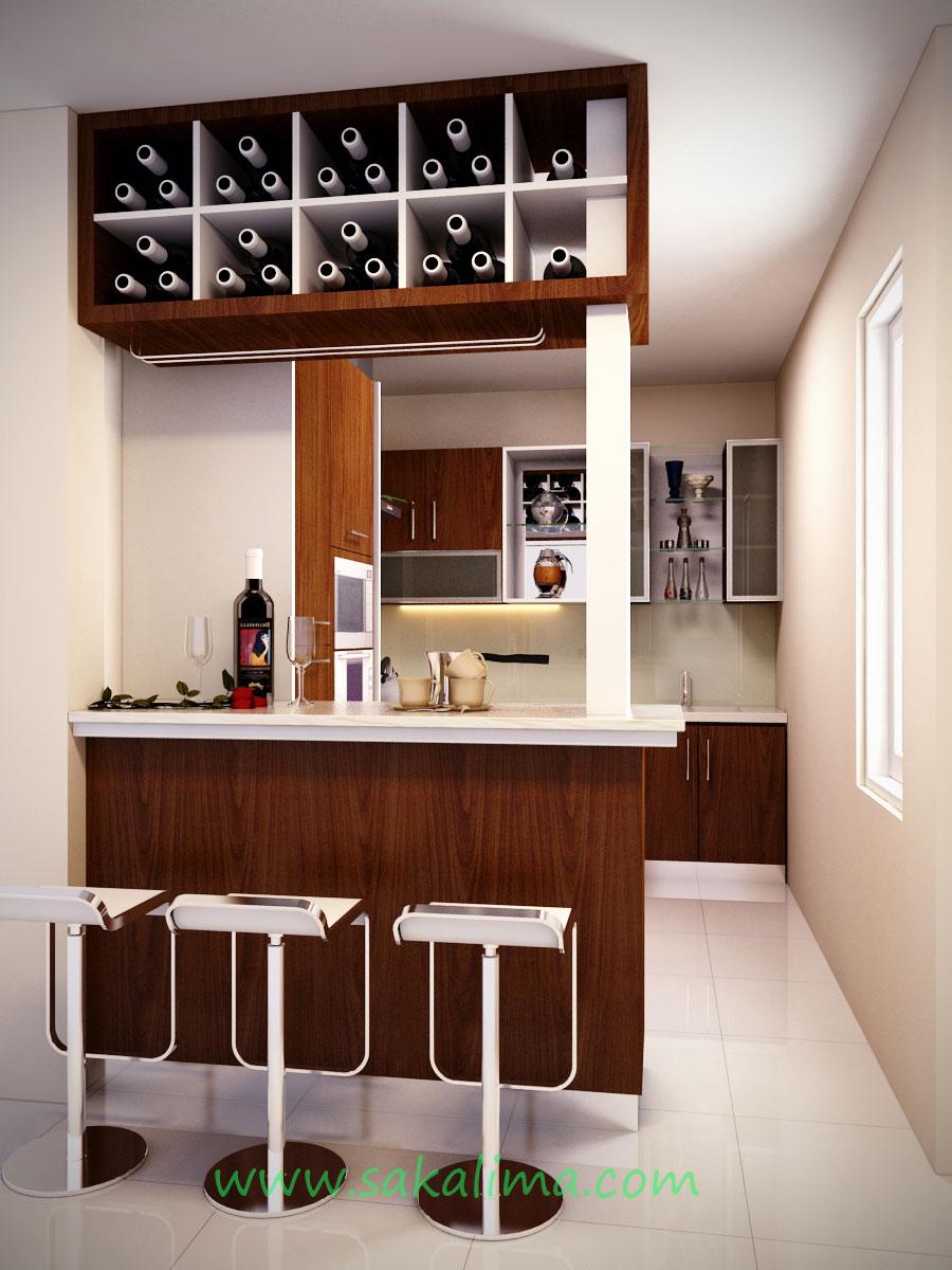 Design Interior Dapur Kering