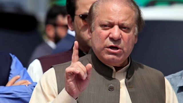 "Nawaz Sharif said on Wednesday that the ""punishment"" being meted out to him is being done so at someone's behest."