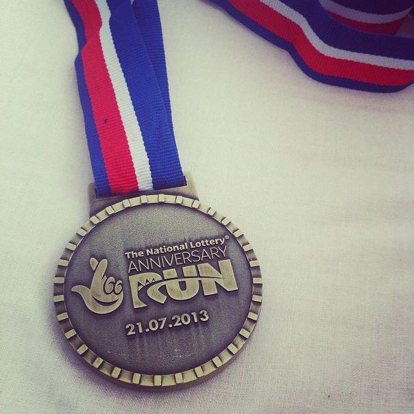 national lottery olympic park run medal