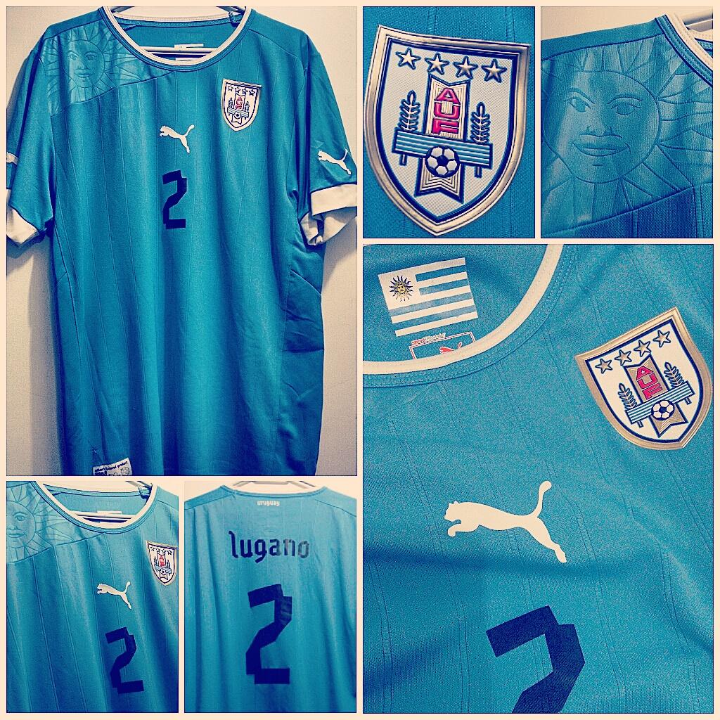 447cc64469 079 - Camisa Seleção Uruguai - Uniforme I - 2012 2013