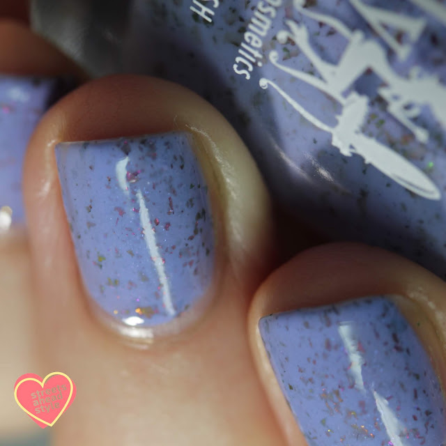 Girly Bits Bunnies Don't Give a Cluck swatch by Streets Ahead Style
