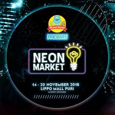 Monsta Bazaar – Neon Market