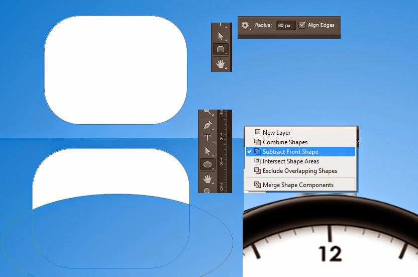 membuat icon alarm, icon photoshop,tutorial icon photoshop