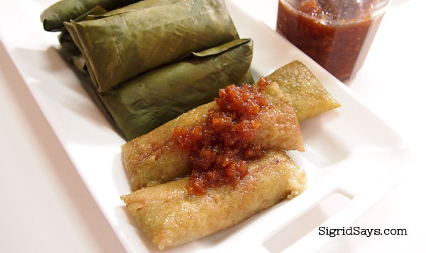 Suman Latik by Quan Delicacies - Bacolod delicacy - - Things to Do in Bacolod