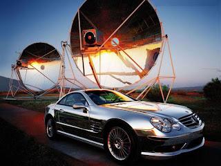Mercedez Auto de lujo cromado
