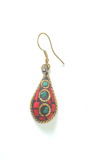 Rajasthani Ethnic Dangler Earrings