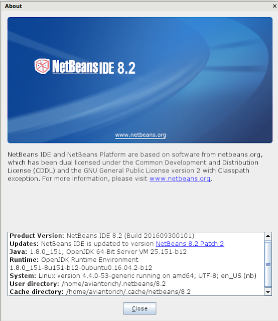 netbeans 8.2 in aviantorichad