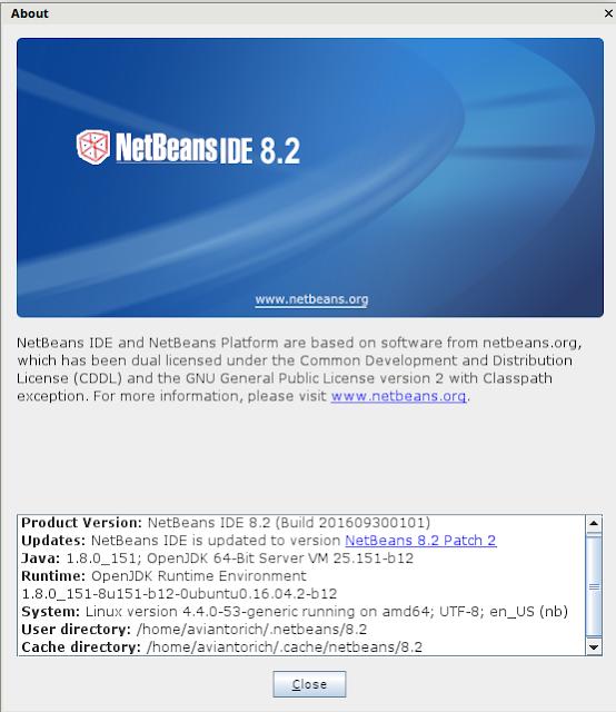 netbeans 8.2 in aviantorichad