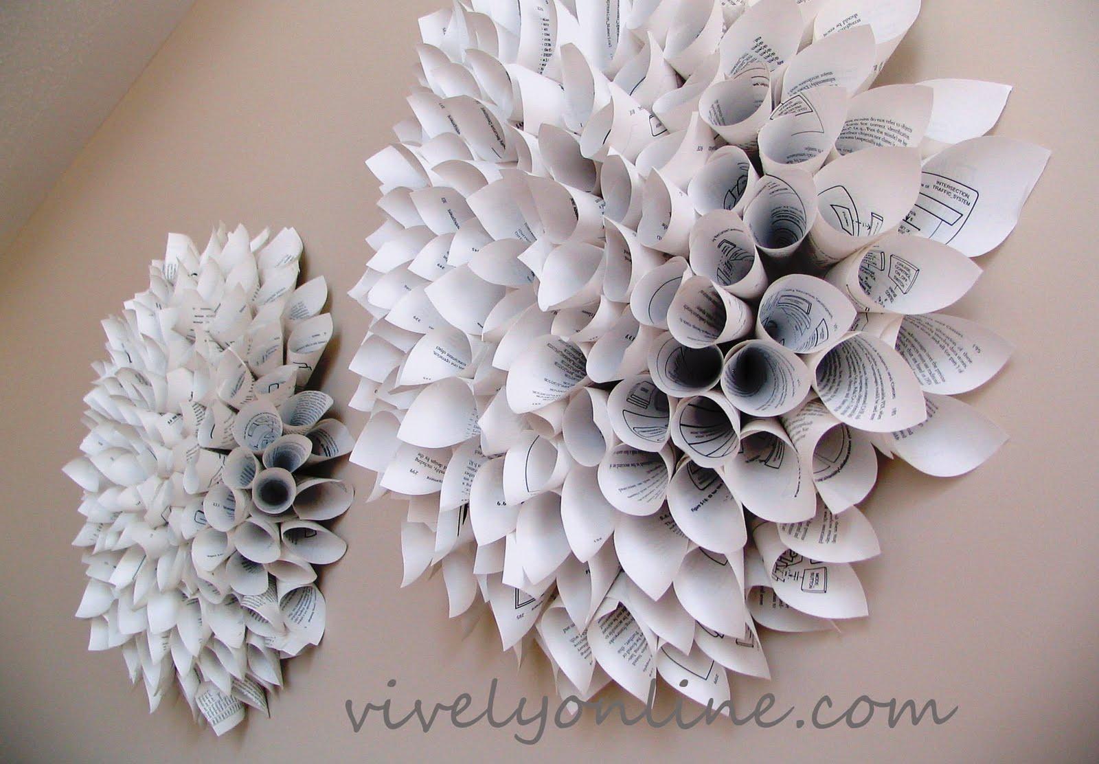 Diy Wall Flowers: DIY Under $5 Features