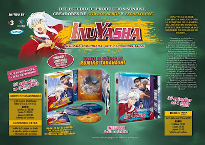 """Anime: Reseña de e """"Inuyasha Box 2 Ep 34-66 Blu-Ray"""" - Selecta Visión"""