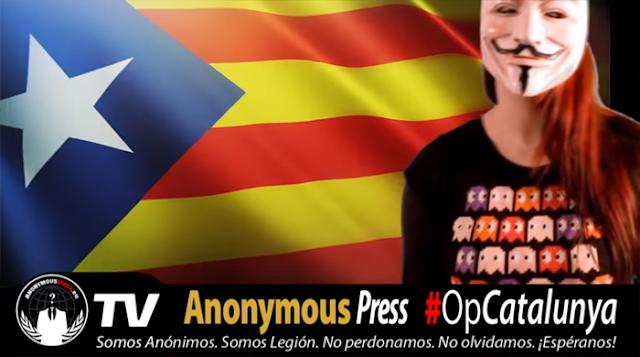 Anonymous lanza un ciberataque contra varias webs de ministerios españoles y del PP