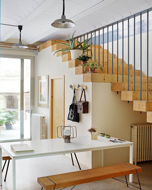 idée escalier moderne