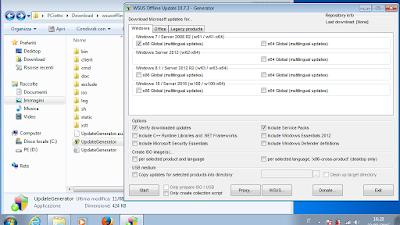 WSUS Offline Update, il tool per scaricare gli aggiornamenti di Windows e Office