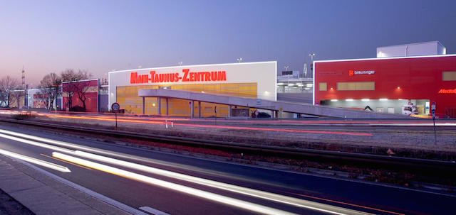 Shopping Main Taunus Zentrum em Frankfurt
