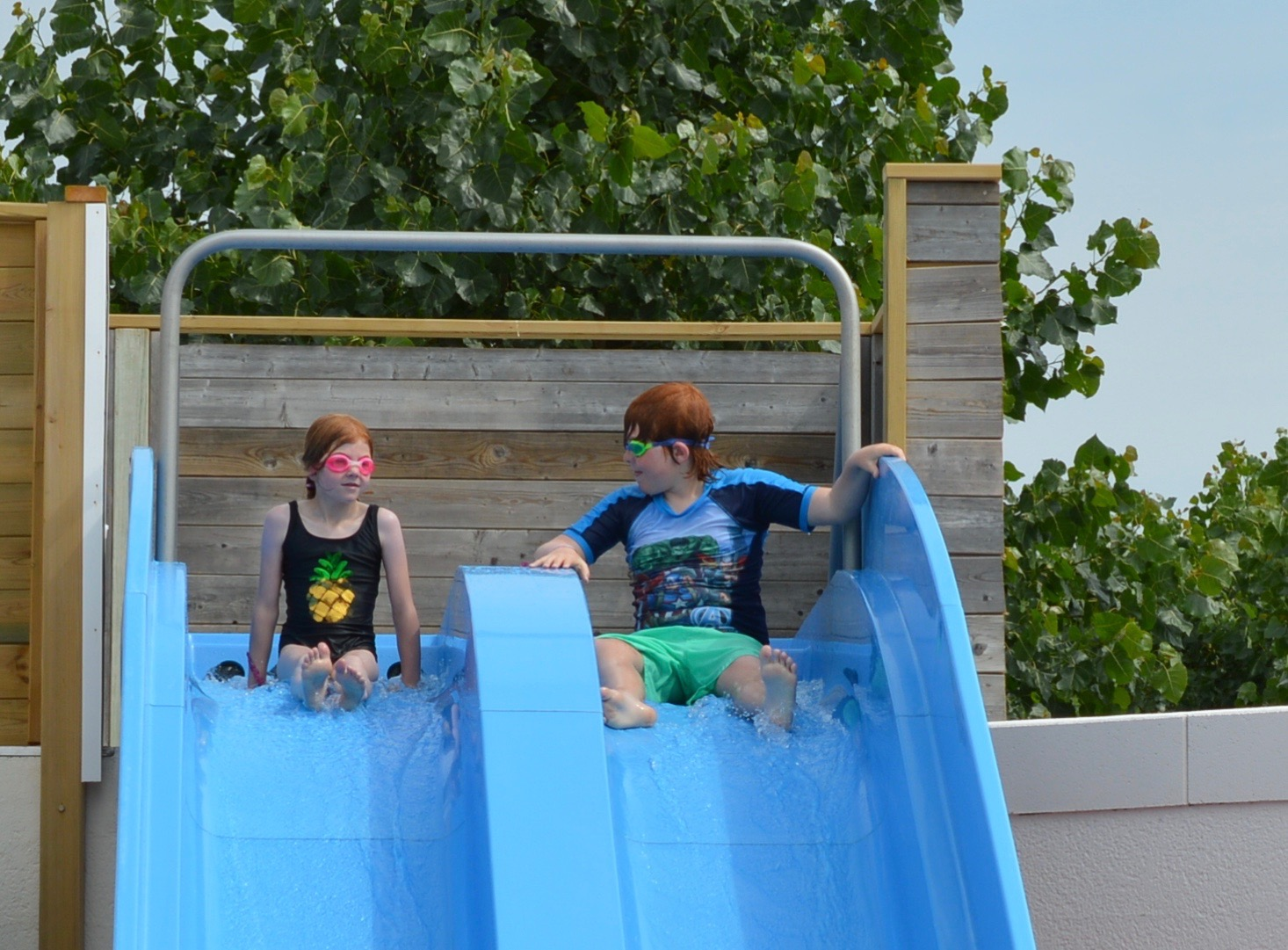 Les Ecureuils Campsite, Vendee - A Eurocamp Site near Puy du Fou (Full Review) - water slides