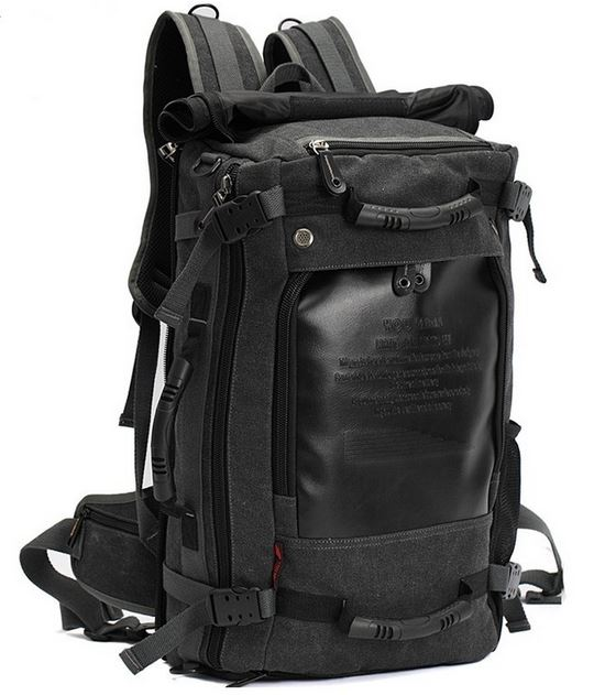 Multipurpose Travel Backpack - Ash Grey