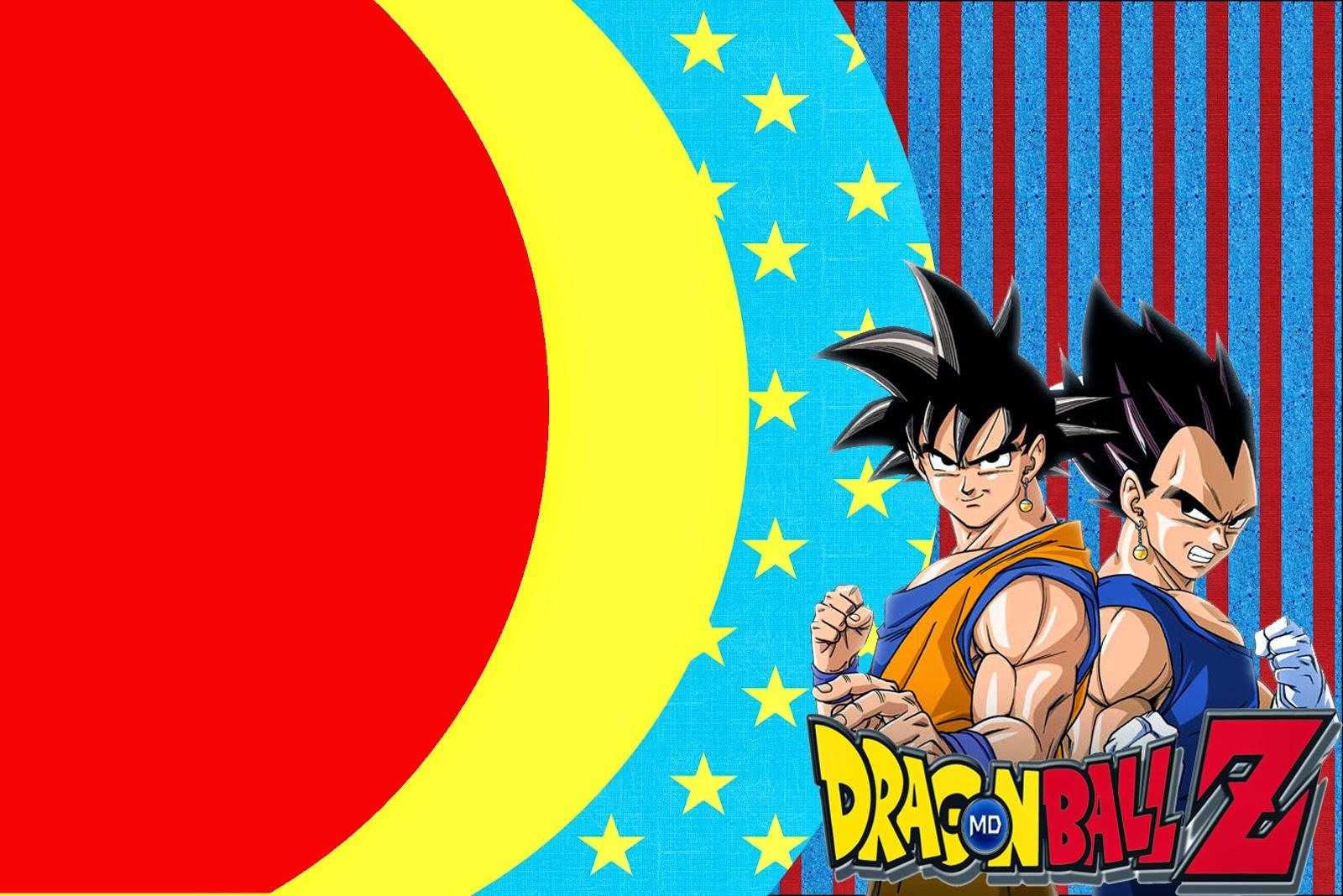 Dragon Ball Z Free Printable Invitations Oh My Fiesta