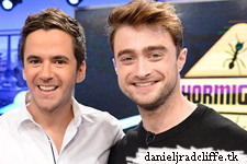 Updated(3): Daniel Radcliffe on El Hormiguero Mexico