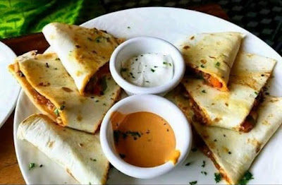 Vegetarian Quesadilla by Rico's Cafe, Hudson Lane, Gtb Nagar, Delhi