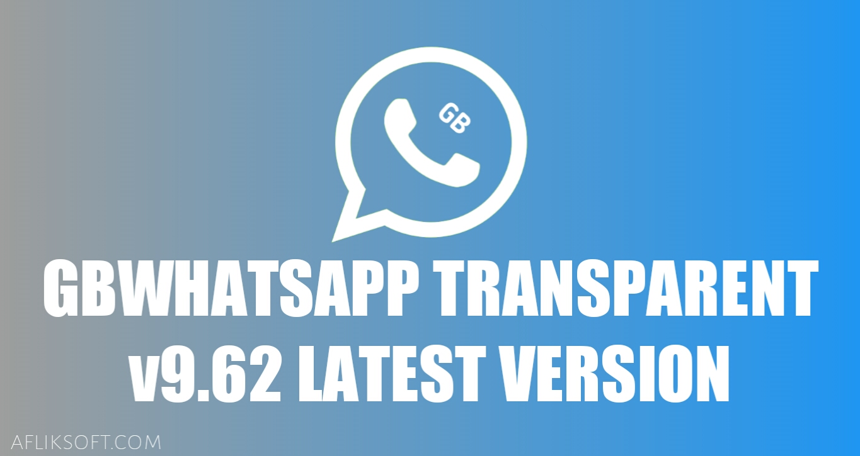 GBWhatsApp Transparent