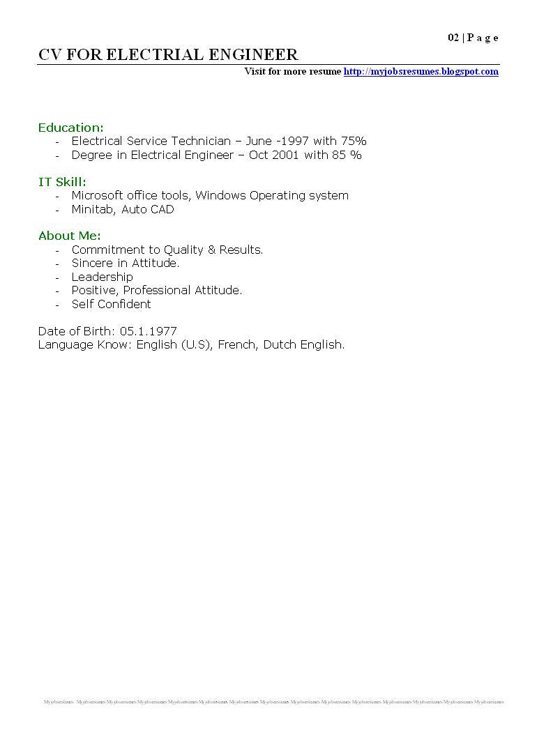 setting up a resume set up 02052017
