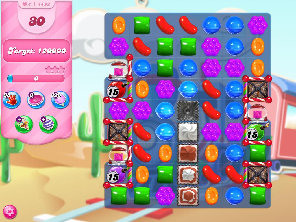 Candy Crush Saga level 4453