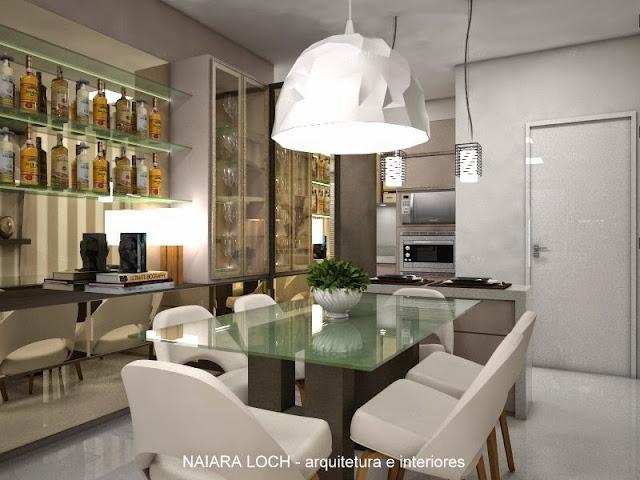 Sala De Jantar Novo Mundo ~  espelho e led s e o buffet com portas de correr de espelho bronze