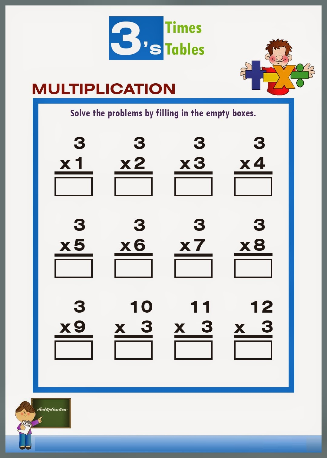 Negative multiplication table gallery periodic table images six times tables worksheets multiplication worksheets 3s word download a times table chart exponential worksheet negative gamestrikefo Choice Image