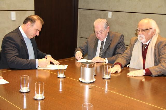 Prefeito Gilson Fantin assina convênio para o SESC ocupar complexo arquitetônico do K.K.K.K.