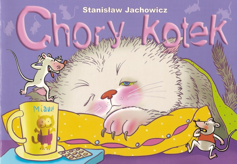 W Zaciszu Biblioteki Chory Kotek Stanisław Jachowicz