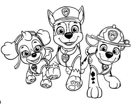 Tranh tô màu những chú chó cứu hộ 16