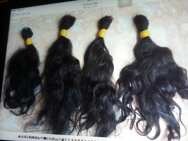 tóc xoăn tự nhiên