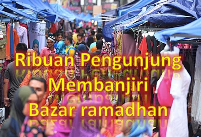 Berniaga di Bazar Ramadhan 2016