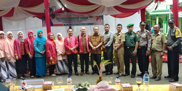 Tim Penilai Kecamatan Terbaik Provsu Kunjungi Asahan