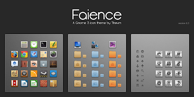 Faience icon theme in Ubuntu 11.10