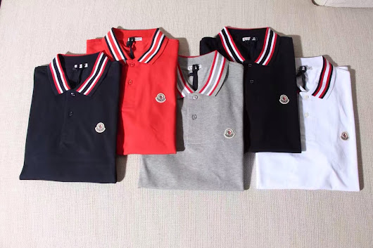 MONCLER - Tipped Piqué Polo Shirt