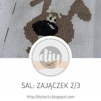 HAFT / SAL - Zajączek cz.2/3