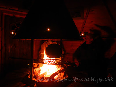 瑞典,  Kiruna guidetur, snowmobile sled, dinner
