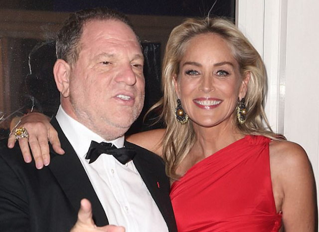 'You can't charge a person with murder when they've only got a parking ticket': Sharon Stone slams Harvey Weinstein - but risks #MeToo backlash as she warns against punishing all sexual predators the same way