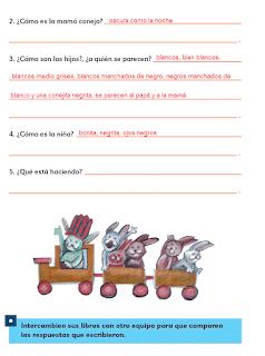 Respuestas Apoyo Primaria Español 2do grado Bloque 2 lección 3 Las descrpciones
