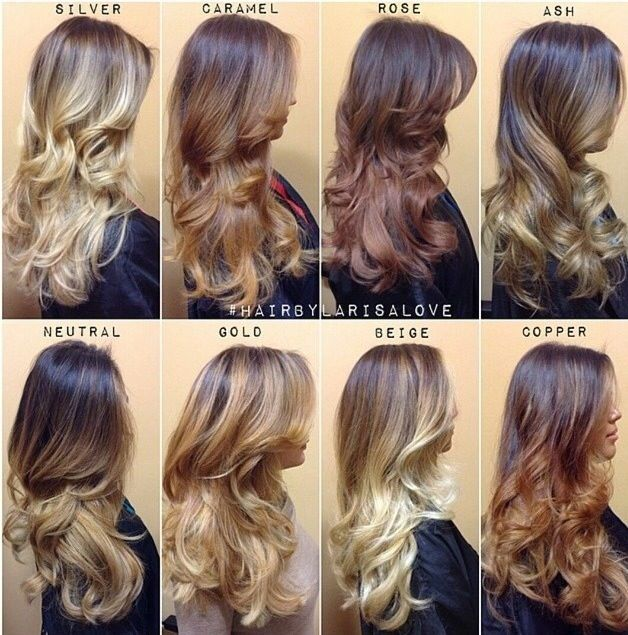 Most Recent Hair Color Trends for Women