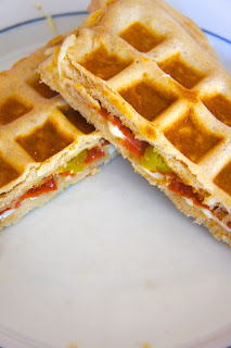 Stuffed Pizza Waffles: Savory Sweet and Satisfying