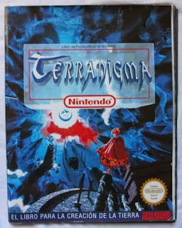 Terranigma - Guía de pistas oficial portada