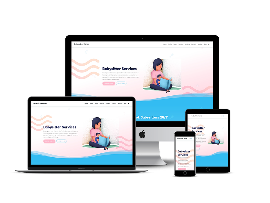Contoh Template Website Company Profil 14