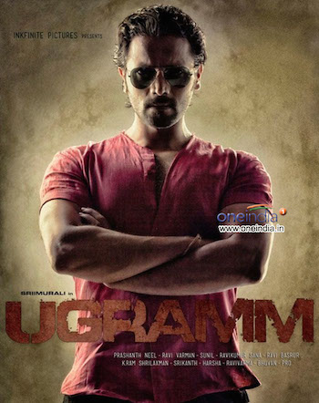 Ugramm (2014) UnCut Dual Audio [ Hindi+ Kannada] 480p HDRip 700MB
