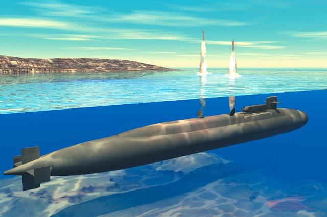 ICBM through water