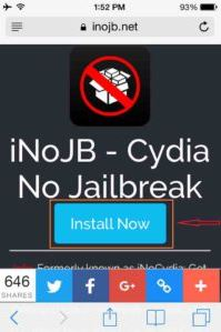 iNoCydia without jailbreak
