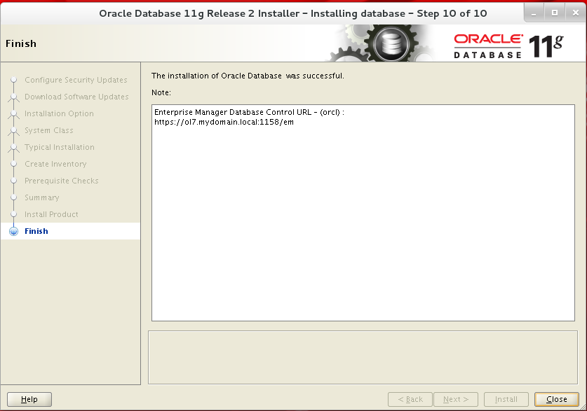 Oracle 11gr2 Linux Prerequisites Oracle 11gR2 Installation