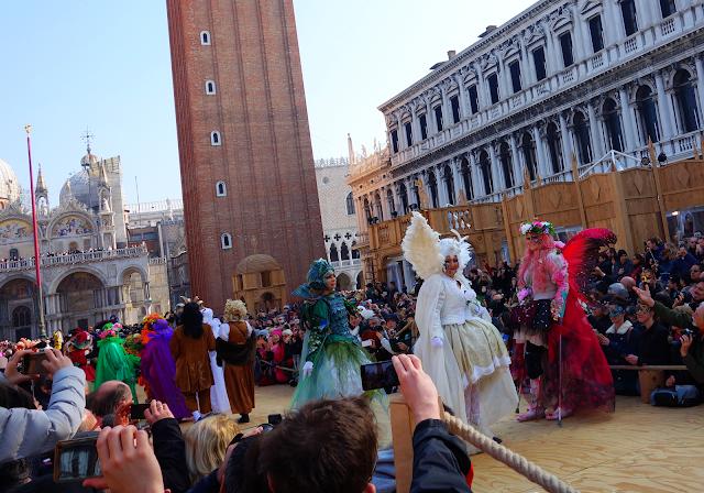 Jak vypadala nejhezčí maska Benátského karnevalu, Benátky průvodce, Program Benátského karnevalu, masky